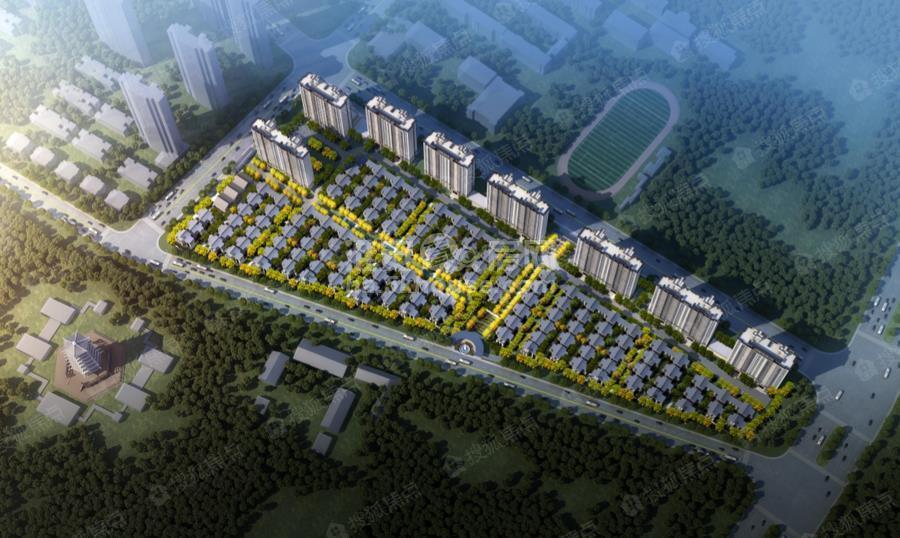 高端改善住宅能否引爆淮安楼市?石榴中式合院产品全面
