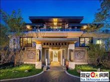 淮安区的中式别墅私家园林帝王式的享受低调的奢华