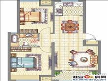 梧桐公馆靠近淮中满两年房主诚心出售两房享受三口之家的乐趣