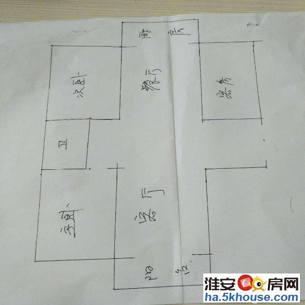 涟东新村精装修三居室采光通透有学位送车库