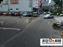 与洪泽县中紧一路之隔,新房、楼层好、环境优美、采光足、交通便