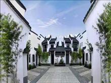上海崇明岛 坐看假山美景,乐颐小镇 花80万买合院 享受品质生活 看花园的中心