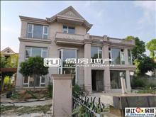 长江玫瑰园 380平四间三层独栋别墅 超大院子出路好
