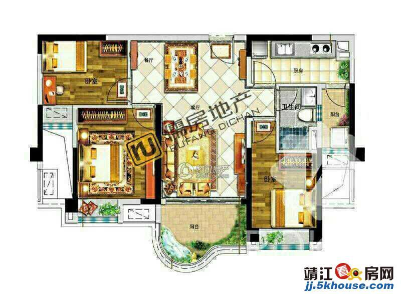 滨江新区中心 碧桂园小三房 稀户型 可上滨江学位 看房房急售