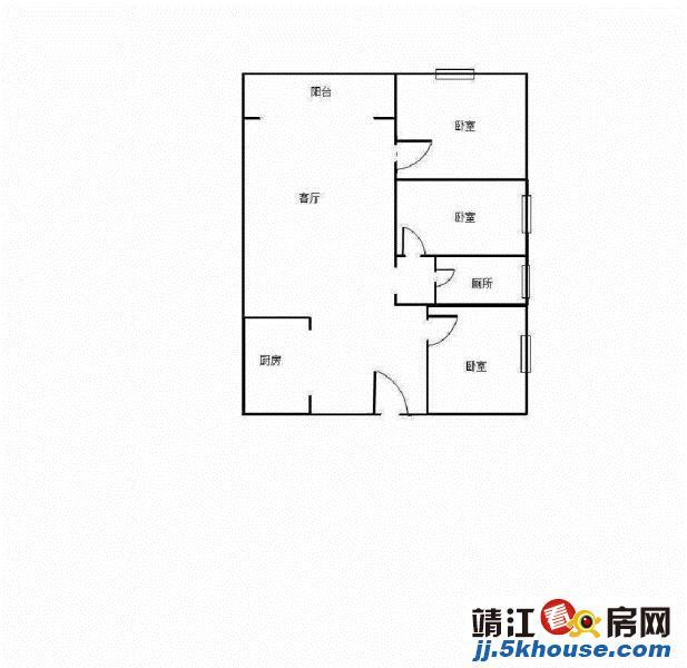 上海城泰和附近 供销新村 精装3房 品 牌家电 只59.8万