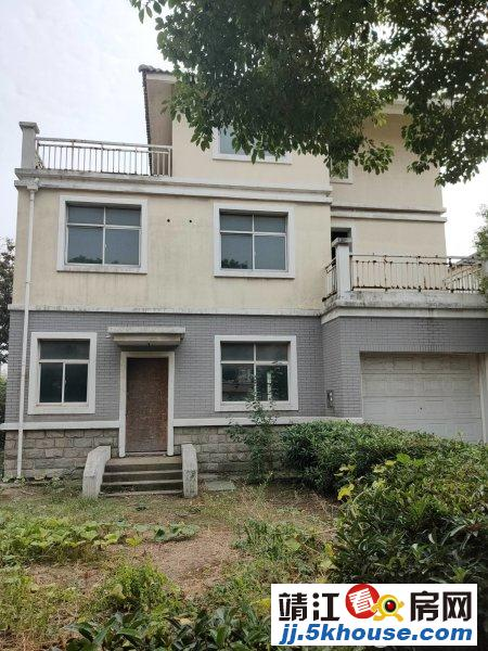 长江玫瑰园 独幢别墅  南面第.一排  超大院子 426万