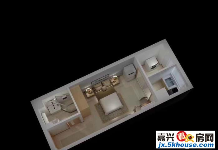 嘉富科技城新商业体繁华且此房买一 层送一层实用面积大38万