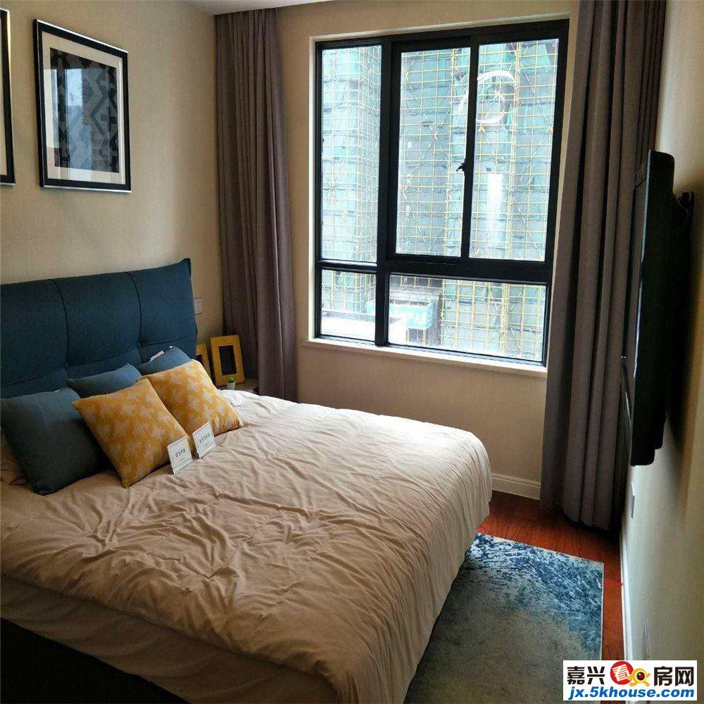 嘉兴秀洲萃湖上郡二期洋房开盘 89平3房 单价1万 置家推荐
