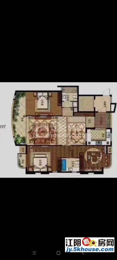 !蟠龙山花园 128万 4室2厅2卫 毛坯 ,高品味生活从点击此房开始!