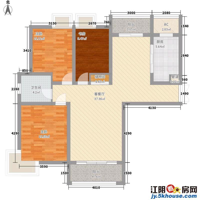 新港公寓精装修三房 南北通透 家具家电齐全 拎包入住随时看房