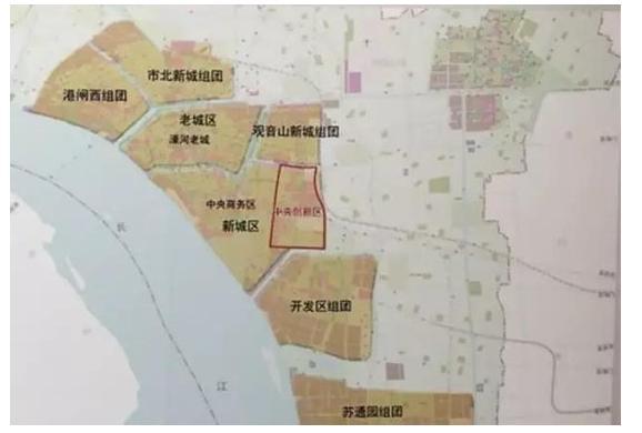 南通规划局官方发布:中央创新区最新规划出炉!