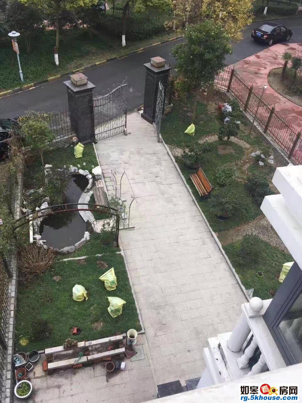 6158上海嘉苑别墅上下三层238平米+49平米 另院子有3