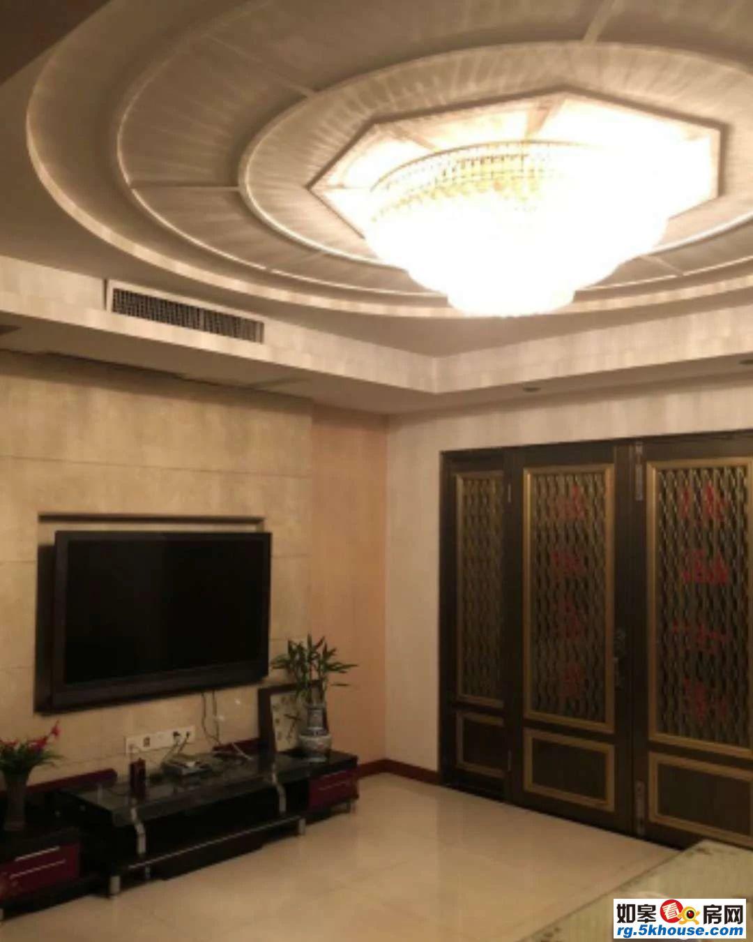 金鼎名城洋房共3层4室180平豪装小高层别墅户型老证180万