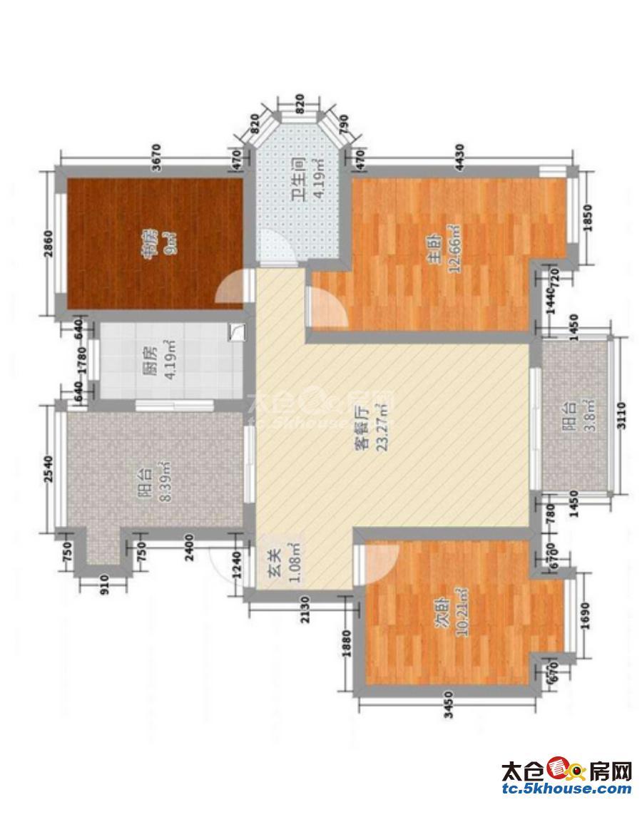 好房出租,赶快行动,向阳路小区 800元/月 1室1厅1卫,1室1厅1卫 豪华装修