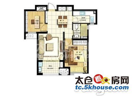 花样年·幸福万象 50万 2室2厅1卫 精装修 ,难找的好房子