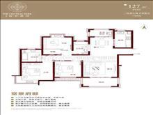 建发泱著 230万 3室2厅2卫 豪华装修 ,大型社区,居家!