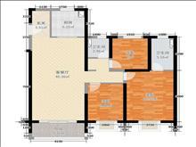 东城花苑一园 165万 3室2厅2卫+2个汽车库 精装修 ,不买真亏急