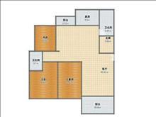 恒隆世家 1900元/月 ,2室2厅1卫 精装修 ,环境幽静,居住舒适!