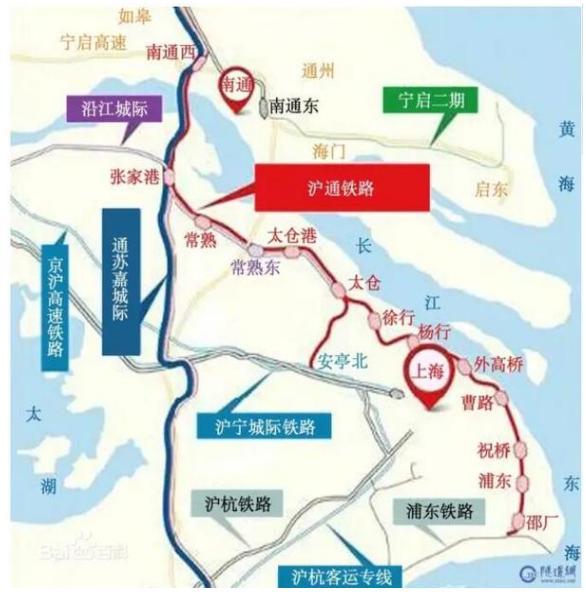 南通去青岛地图
