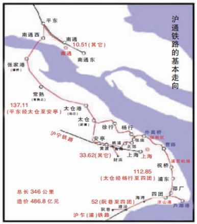 3月10日沪通铁路全线主体工程基本完工