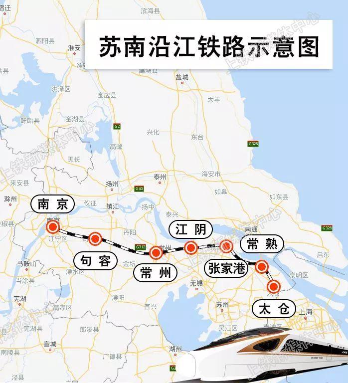 太仓第二条铁路—苏南沿江高铁可行性研究报告获批