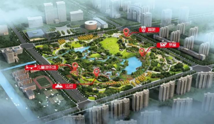 市领导调研太仓中心公园等重点项目进展情况
