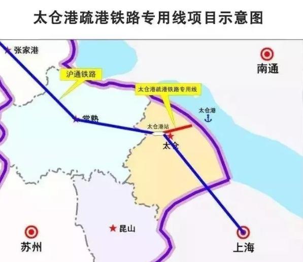 太仓新消息:新建太仓港疏港铁路专用线工程
