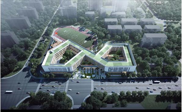 好消息!太仓新区将新建一所中学,效果图曝光!在你家附近吗?