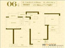 景瑞荣御蓝湾 170万 3室2厅1卫 毛坯 好楼层置低价位