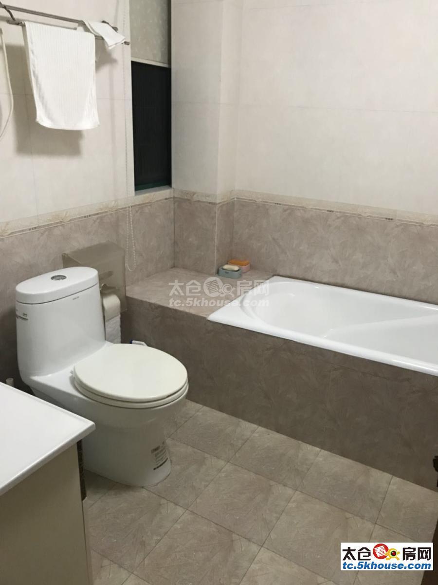 古镇湿地公园双学期溪景湾 120万 3室2厅2卫 精装修 适合和人多的家庭