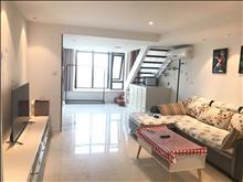 万达广场复式精装两房 买一层得两层 城市商业圈 高薪人群居住地