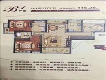 实验房出售英伦世家216万3室2厅2卫毛坯115平好户型