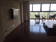 出租,高尔夫湖滨花园,197平,8000/月,家电齐全,有地暖,精装