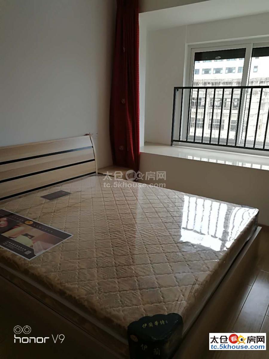 浏河上海时光小区 2000元/月 3室2厅1卫 精装修 ,上班族的首选