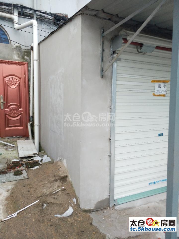 太仓沙溪直塘镇皮得隆皮鞋市场 厕所对面小门面房