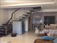 骏园时代复式 2000元/月包物业 2室 精装修 随时带看房