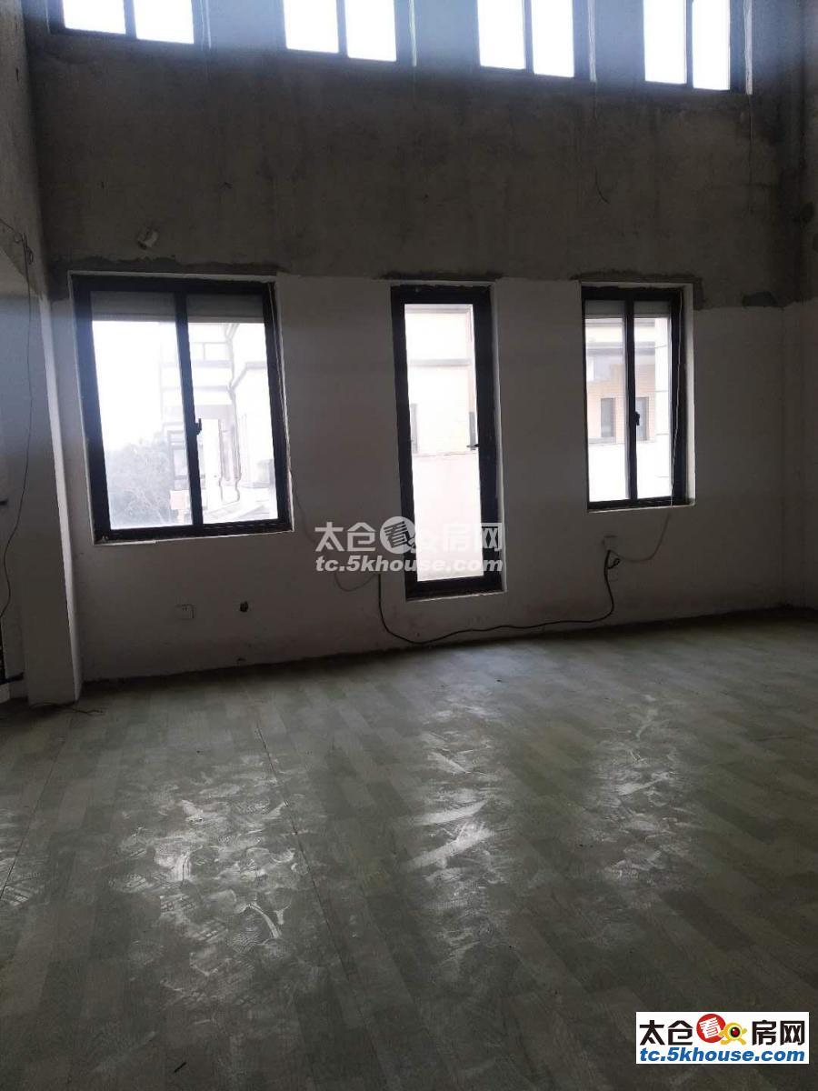 出售 陆渡 玲珑湾双拼别墅 412平6室3厅5卫毛坯420万有钥匙