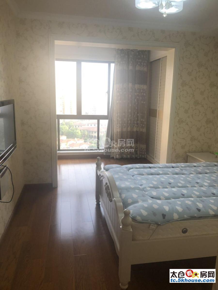 景瑞荣御蓝湾 5500元/月 186平米,采光无敌,4室3厅3卫 豪华装修,出租