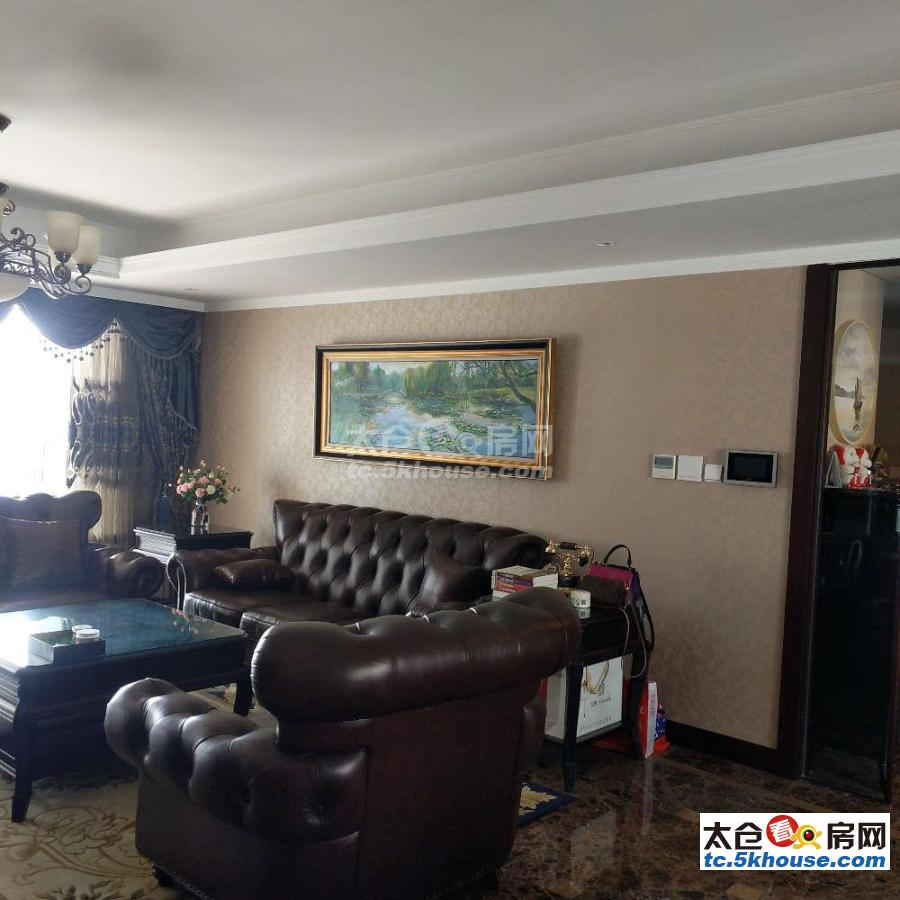 裕沁庭 975万3室2厅2卫 豪华装修 彩光好视野开阔 满两年 双车位
