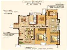 高尔夫鑫城127平 218万 4室2厅2卫 毛坯 ,多条公交经过!