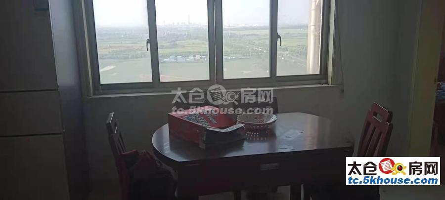 太仓浏河东方花园 110万 2室2厅2卫 精装修全配