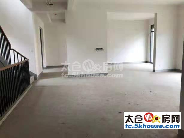 科教新城天境户板块上海公馆独栋别墅450平毛坯1600万大院子有钥匙