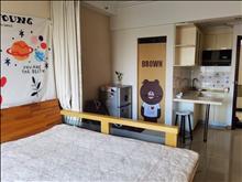 骏园时代广场1室1厅1卫1500元月精装修电梯房