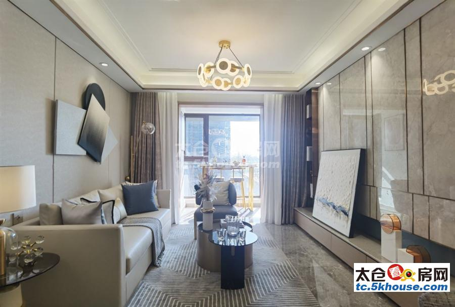 100平 精装修 3室2厅 125万 南北通透 看房方便 有