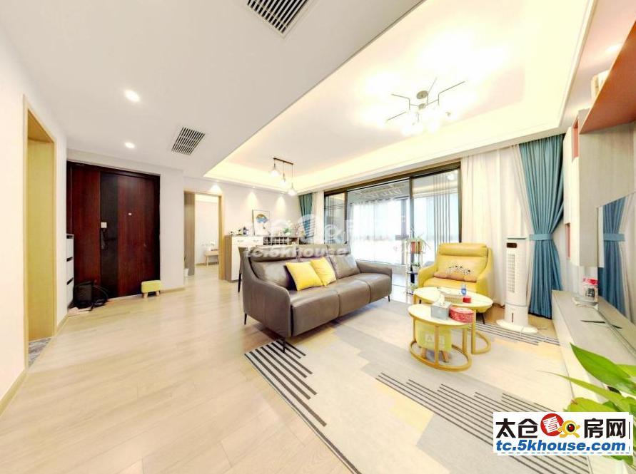 高尔夫鑫城 116万 3室2厅2卫 精装修 成熟社区,交通便利,有钥匙