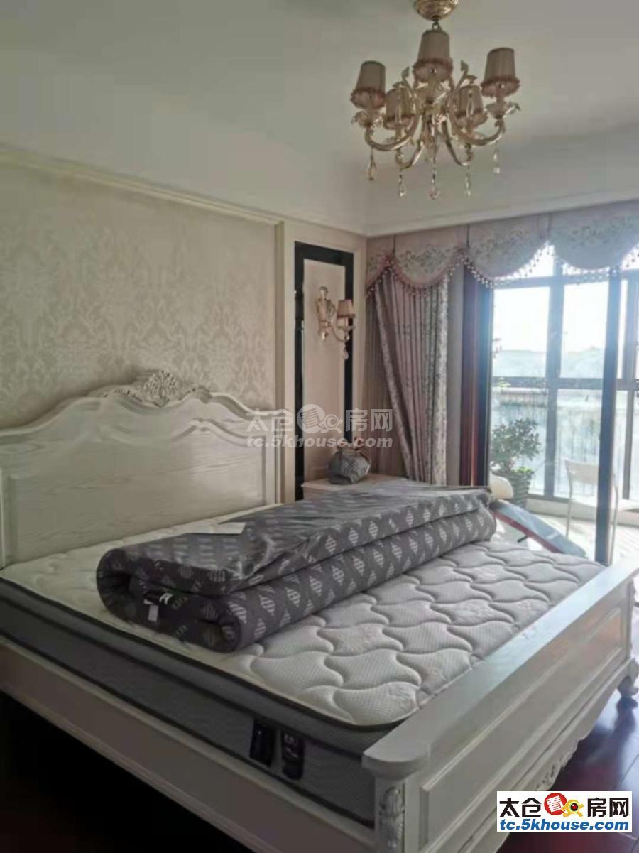 景瑞荣御蓝湾 4300元/月 3室2厅1卫,3室2厅1卫 豪华装修 ,没有压力的居住地