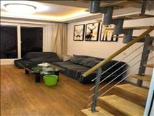 奥森尚座公寓65平复式两房2300精装停车方便,房屋干净整洁
