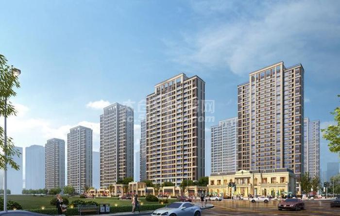 高尔夫鑫城 216万 117平  纯毛坯,现房,有钥匙,随时看房!