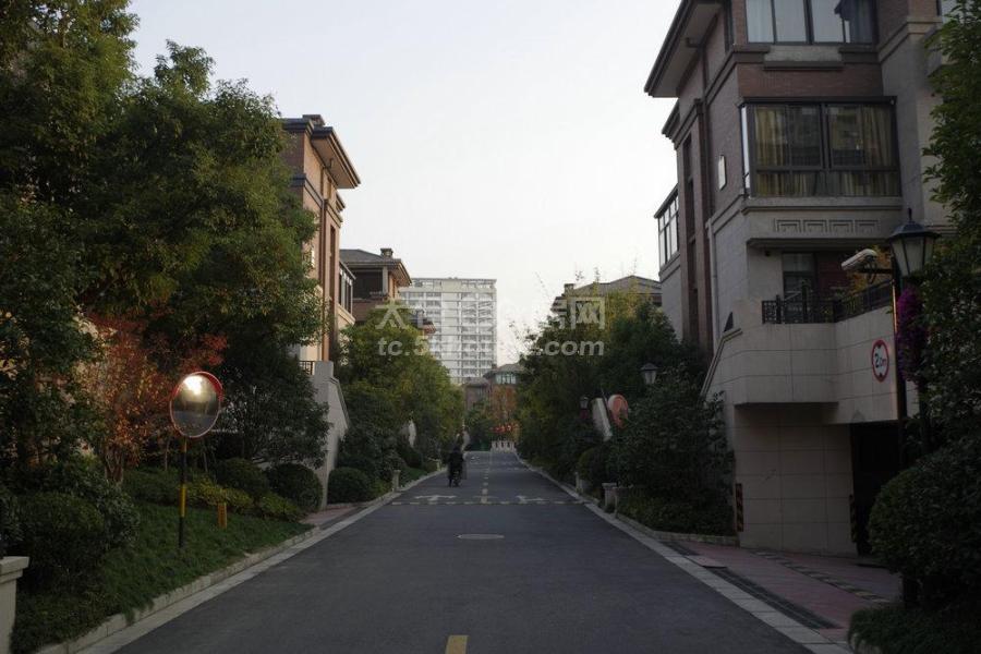 景瑞望府联排别墅边套193平 390万 3室2厅3卫 毛坯双车位带院子