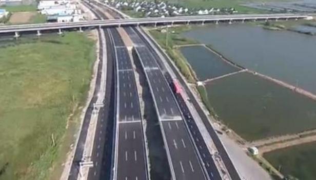 苏州吴江大道尾留工程竣工通车 所有社会车辆均可通行